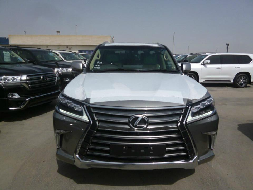 Brand New 2016 Lexus LX450d Auto Full Option