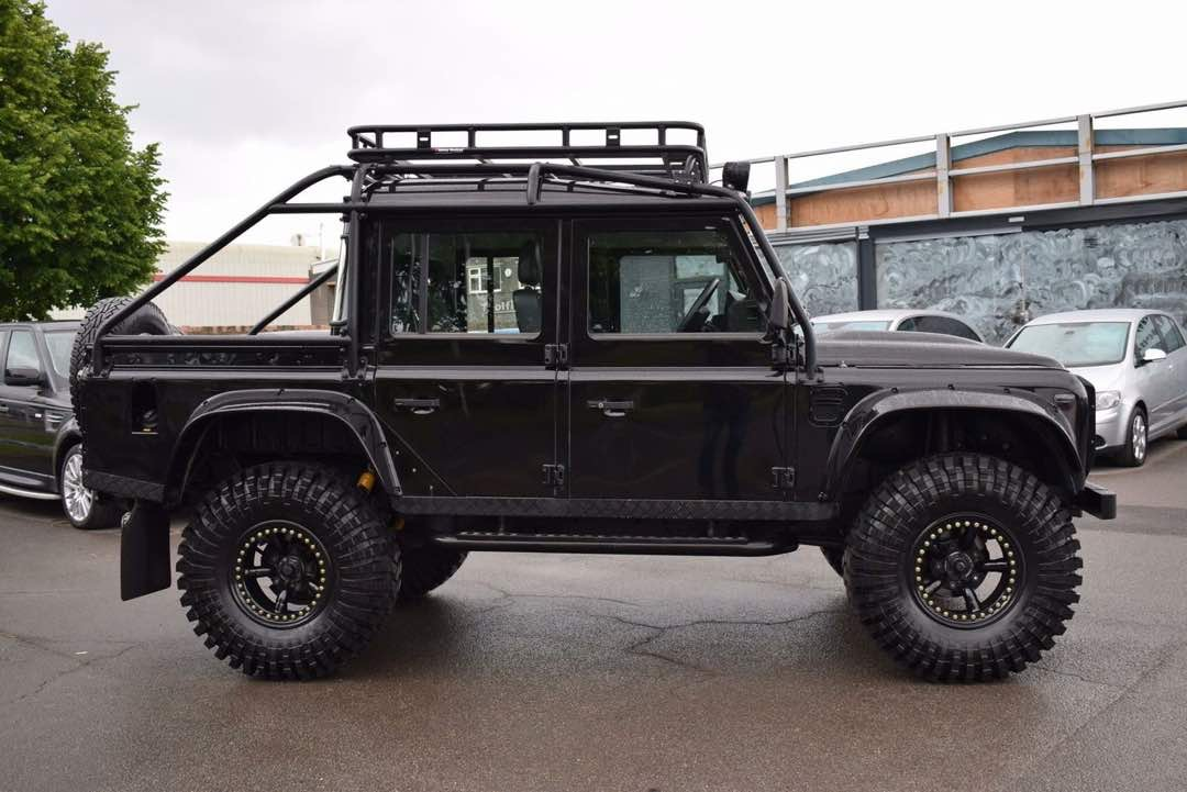 2010 Land Rover Defender 110 Tdi Country Pick Up Manual