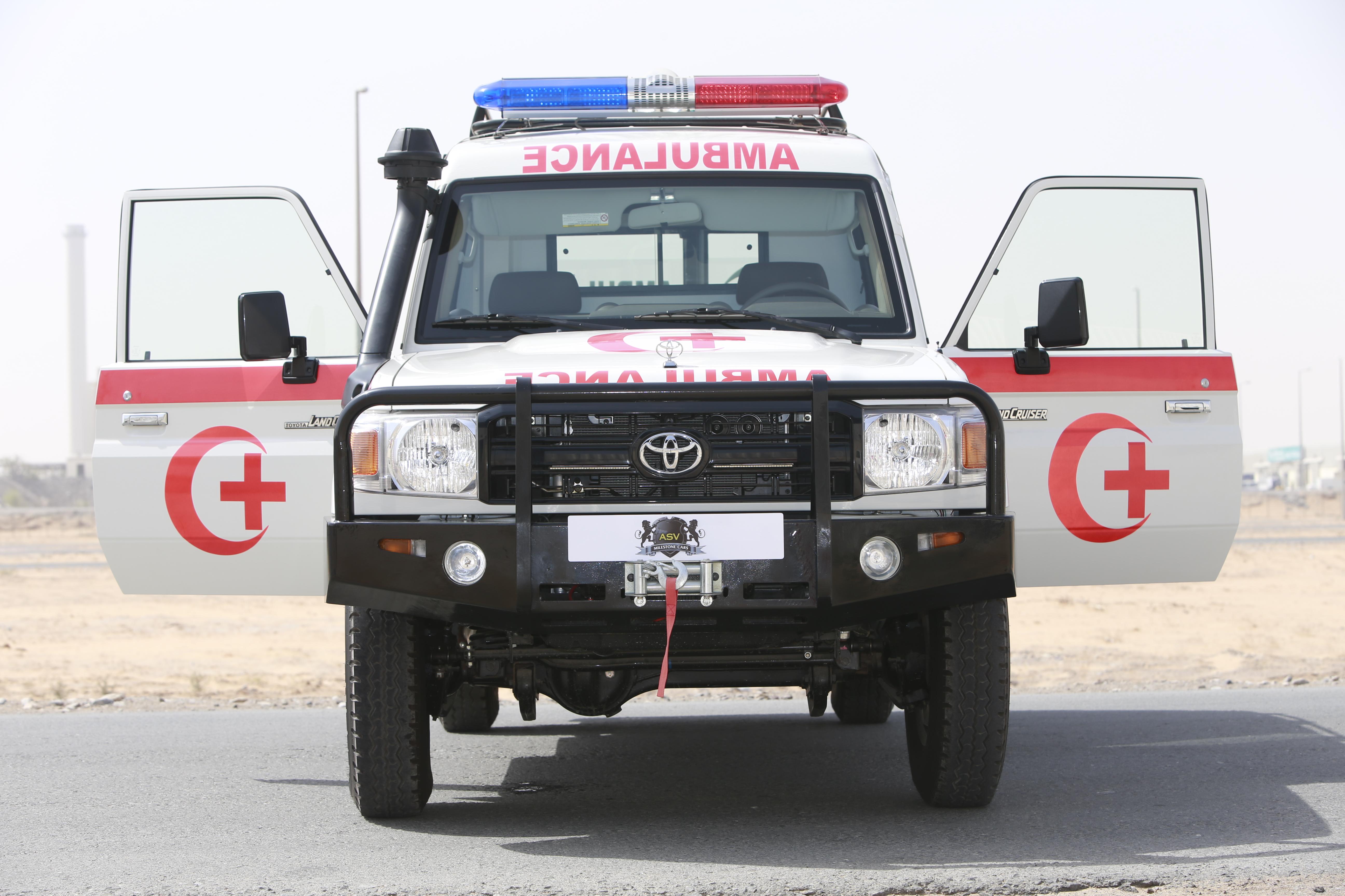 2017 Toyota Land Cruiser 76 Diesel 4.2 – Ambulance