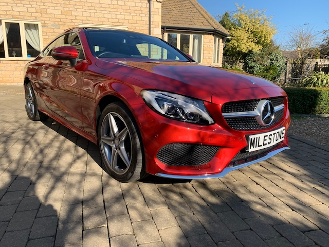 2017 Mercedes Benz C200 AMG LINE 4 Matic Coupe