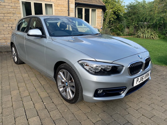 2016 BMW 118i Sport 1.5 Petrol Manual Transmission