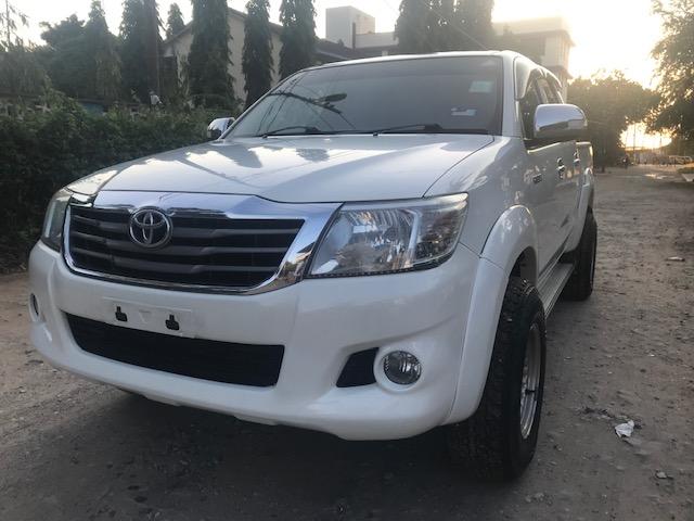 2012 Toyota Hilux 2.5 D4-D Double Cab Auto