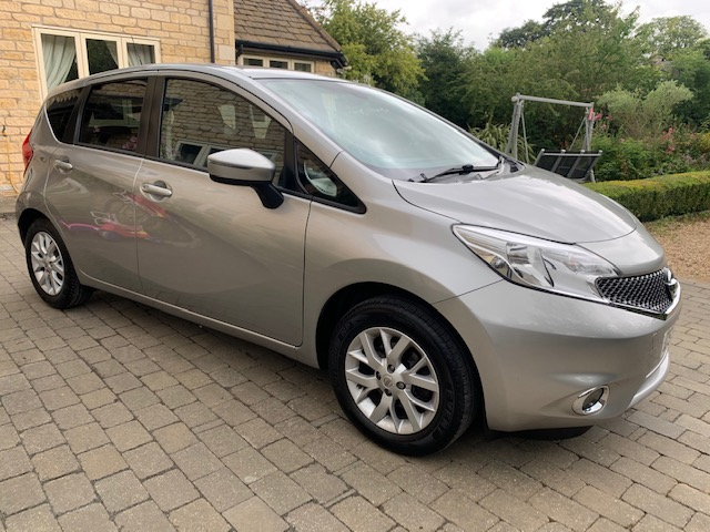 2017 Nissan Note 1.2 Acenta Premium 5dr Petrol Manual, 22,600 miles, Full Service History, 1 Previous Owner, Sat Nav, DAB, Bluetooth Phone Prep,